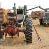 Set Up For Threshing