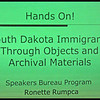 <b>LCHS SPRING MEETING</b>  <b><i>Sunday, March 30, 2014</i></b> Homestake Adams Research and Cultural Center - Lead, SD