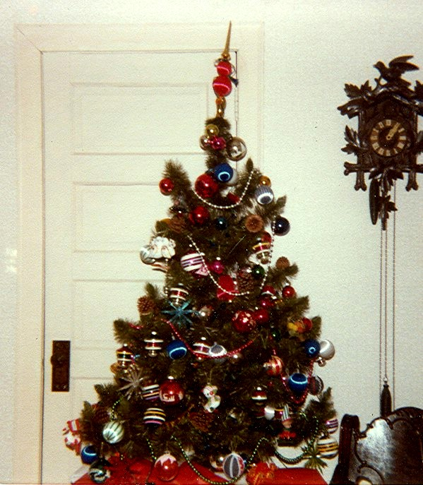 Thomas Breen House - Christmas 1977