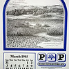 P&P The Rossendale Calendar 1985 Drawings by John Arkwright Produced by Paul Whitney  004