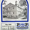 P&P The Rossendale Calendar 1985 Drawings by John Arkwright Produced by Paul Whitney  006