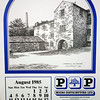 P&P The Rossendale Calendar 1985 Drawings by John Arkwright Produced by Paul Whitney  009