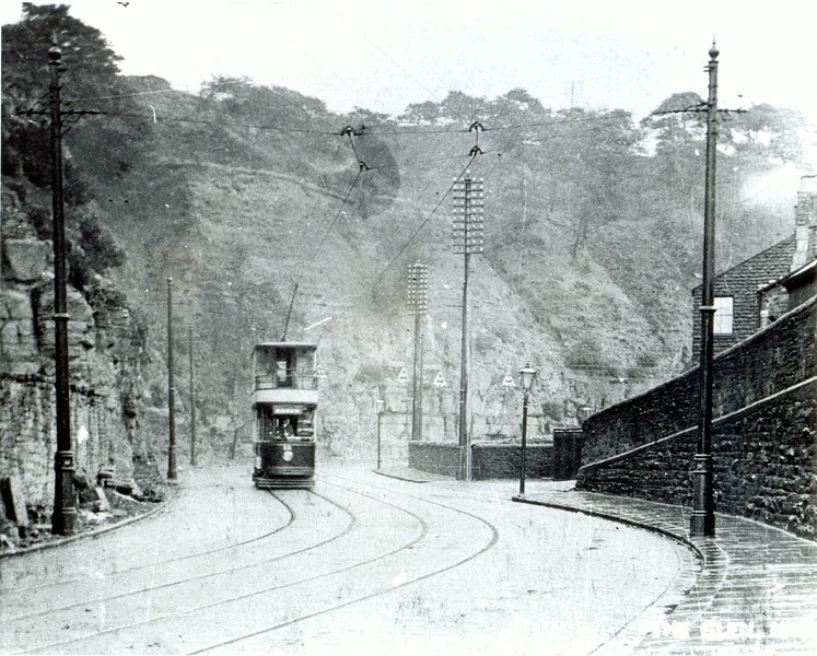 Tram in The Glen 1910