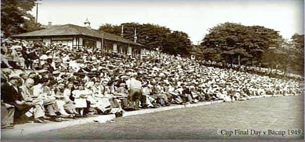 Rawtenstall C C  Cup final day V Bacup 1949