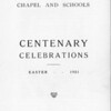 History of Longholme Chapel 1921 002