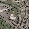 Rawtenstall Aerial view Reedsholme J B Broadley via Google Earth 2013