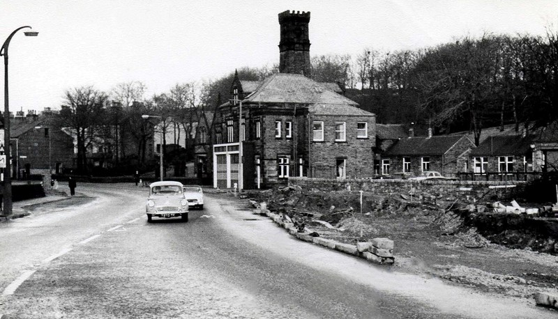 Rawtenstall Fire Station 3 1960s