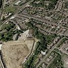 Rawtenstall Lower Mill and bypass construction site of via Google