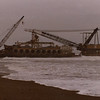 Salvage Chief,Grounded Crane Barge,