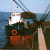 Marine Explorer Transferring Barge To Salvage Chief,Refloated And Delivered,UMTB 283,