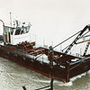 Saber,Converted Navy Landing Craft,A Frame Work Boat,Fred Devine Diving And Salvage,