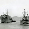 Salvage Chief Assiting Ship,During Korean War Period,