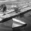 Sansinena  Explosion Dec 1976 San Pedro 4000 ton Superstructure Blown on To Dry Land