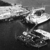 Salvage Chief and  Super  Tanker Sansinena  San Pedro December 1976 Outer Los Angeles  Harbor