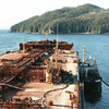 Exxon Valdez Grounded Reef Alaska,Salvage Chief Alongside,Patched Raised Towed To California,