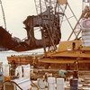 Salvaging 300 Ton Section Sansinea Hull 1977,Salvage Chief,