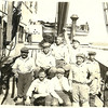Boat Good Partners,Pic Taken 1921,Petar Dragich with pipe,Son Pete Dragich over right shoulder of Petar,