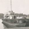 B S P Power Scow Pic Taken After World War II Astoria Marine Const Co