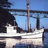 Sharon  Built 1925 by C M Anderson  Gig Harbor  Paul Riebe  John Lund  Wally Dean Shattuck   Pic Taken Fort Bragg