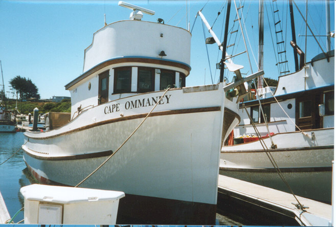 Cape Ommaney Built 1946 Tacoma Boat  John Mjorud  Thomas Burke  Paul Graver  Mark  Anello