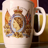 Water County Primary Coronation mug 19530602 give to Steve Riley