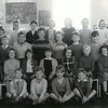 Newchurch C of E School c1959 Angela Peacock 3rd from left back row