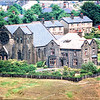 Waterfoot St Annes Church and Vicarage from Seat Naze 1974