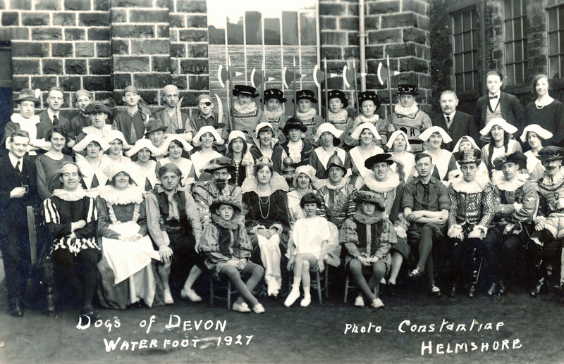 Waterfoot Dogs of Devon 1927
