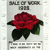 Bethesda Methodist Chapel Jubilee Sale of Work 1928