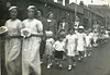 Sunnyside baptist primary Dept 1936  Ethel Smith looking left  With the white collar  Aged c16 or 17 Mrs Hollows far left