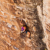 Ruth on EveryBody's Slave 5.11b, Sonic Youth Wall Red Rocks