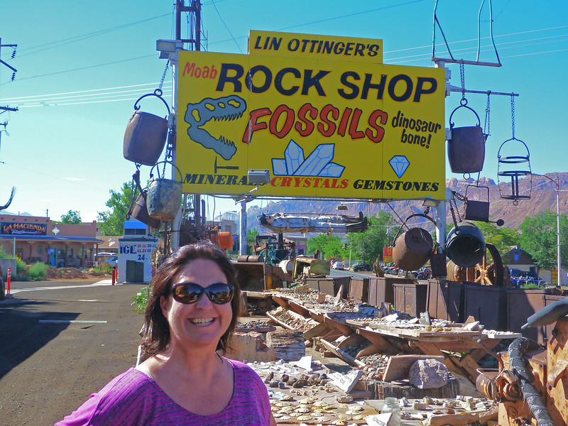 Lin Ottinger's Moab Rock Shop