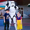 Stormtroopers keep the peace in this part of Disneyland