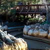 The Grizzly River Run has lost its river. It did allow those interested to see how they make the rapids sections of the ride.