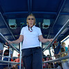 630 Linda on the boat