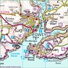Map of Fowey