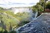 Iguassu Falls - Argentinian Side - Upper Rim of Falls 428
