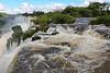 Iguassu Falls - Argentinian Side - Upper Rim of Falls 605