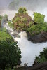 Iguassu Falls - Argentinian Side - Upper Rim of Falls 559