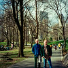 Ian and Oliver in Central Park