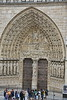 Paris 2013 - Notre Dame Cathedral - Main Door