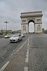 Paris 2013 - Arc de Triomphe - View from the Road