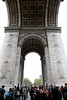 Paris 2013 - Arc de Triomphe - Under the Arch
