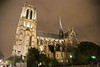 Paris 2013 - Notre Dame at Night - Side View