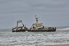 Skeleton Coast - Wreck of Fishing Ship 09