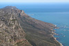 Capetown - Table Mountain - View East Towards Cape of Good Hope