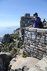 Capetown - Top of Table Mountain - Veena at Lookout Area