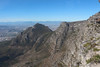 Capetown - Table Mountain - View of Mountain Side