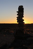 Fish River Canyon - Canyon Roadhouse - Sunset Walk - Sun Behind Rock Pile