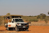 Kgalagadi Park - Drive into Park - In the 4x4
